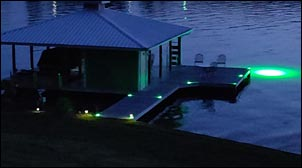 Hydro Glow Solar Dock Lights