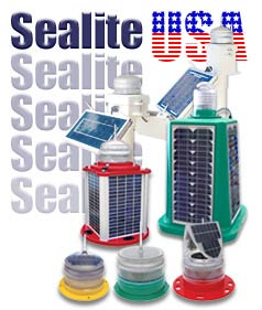 Sealite Solar Marine Lights